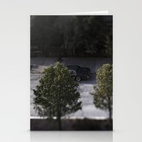 cars Stationery Cards featuring Cars by James Lyle