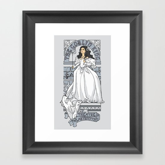 Theatre de la Labyrinth v2 Framed Art Print