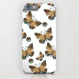 Envolée de papillons iPhone Case