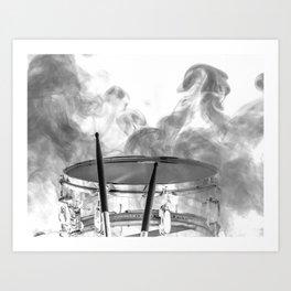 DARK SMOKE Art Print