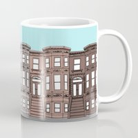 brooklyn Mugs featuring Brooklyn by Home & Anchor