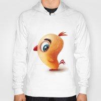 chicken Hoodies featuring Chicken by Alexander Skachkov