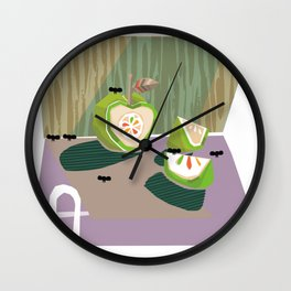 """A""  Wall Clock"