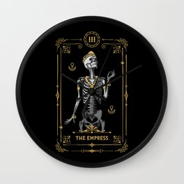 The Empress III Tarot Card Wall Clock