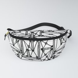 Pipes and Wires Fanny Pack