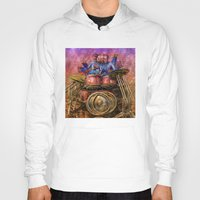 drum Hoodies featuring Drum solo by Rick Borstelman