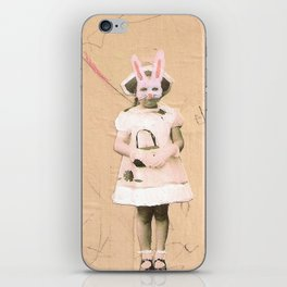 Imaginary Friends- Bunny iPhone Skin