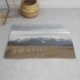 Prairies and mountains Rug
