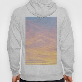 Blue Rose Yellow Sunrise Hoody