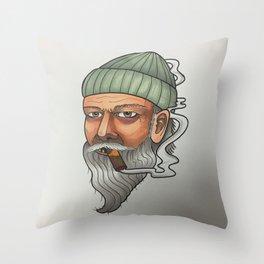Hobo Stylin Throw Pillow