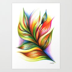 Armonía Art Print