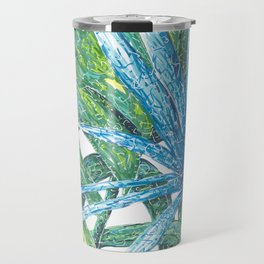 Philodendron & Flora Travel Mug