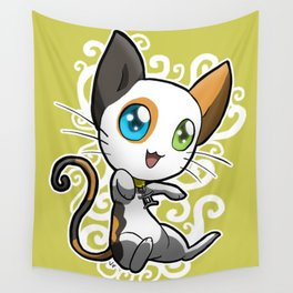 Zodiac Cats - Gemini Wall Tapestry