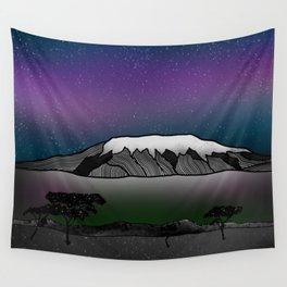 Mount Kilimanjaro Wall Tapestry