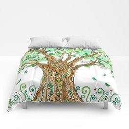 Eat Your Greens Comforters