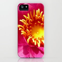 water lily macro iPhone Case