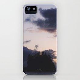 Sunset at La Push iPhone Case