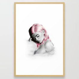 Kylie. Framed Art Print