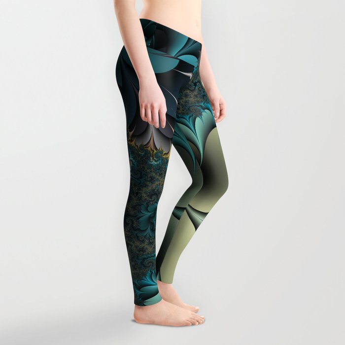 Birds of a Feather Fractal Leggings