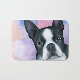 Dog 128 Boston Terrier Bath Mat