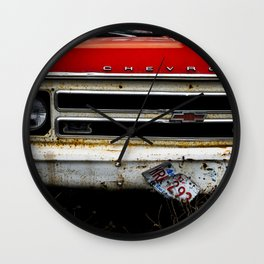 Abandon Chevy Wall Clock