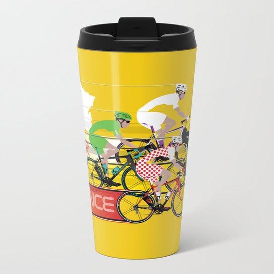 Tour De France Metal Travel Mug