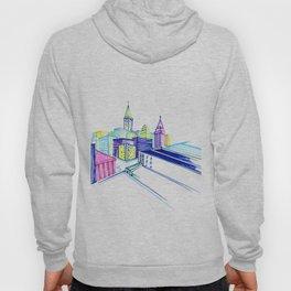 Vibrant city Hoody
