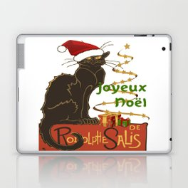 Joyeux Noel Le Chat Noir Christmas Parody Laptop & iPad Skin