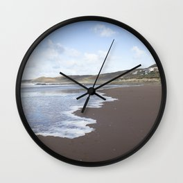 Seaside Town Wall Clock