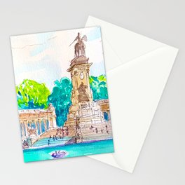 parque del retiro. Madrid Stationery Cards