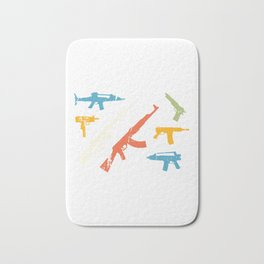 Automatic Rifles Bath Mat