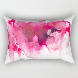 When The Heart Bleeds Rectangular Pillow