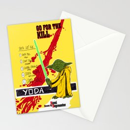 Kill Wars Stationery Cards