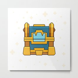 Crown Chest / Clash of Clans Metal Print