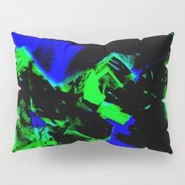Happy Chaos (Blue & Green) Pillow Sham