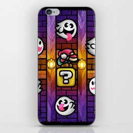 Boos in the Haunted House iPhone Skin