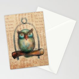 Wise Owl II Stationery Cards