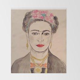 Classic Frida Throw Blanket