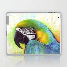 Bird Watercolor Animal Macaw Laptop & iPad Skin