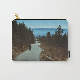 Path up the Great Smoky Mountains Carry-All Pouch