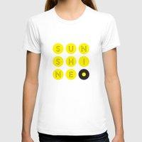 sunshine T-shirts featuring Sunshine by KARNATARKA
