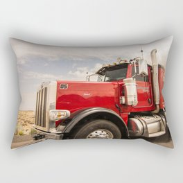 Red truck California Rectangular Pillow