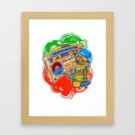 AM Radio Framed Art Print