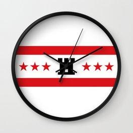 Flag of Drenthe Wall Clock