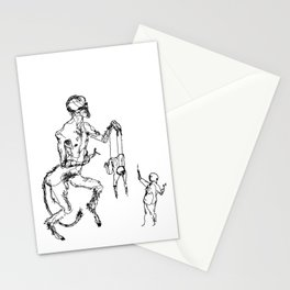 The Devil's Playthings Stationery Cards