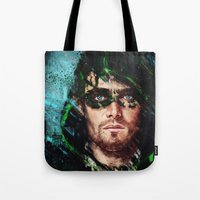 archer Tote Bags featuring The Archer by Monika Gross