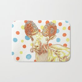 Ammonite Sheep Bath Mat
