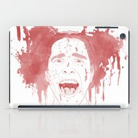 patrick iPad Cases featuring Patrick Bateman by Itxaso Beistegui Illustrations