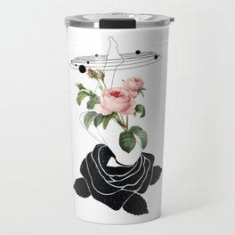 Space mystery Roses solar system Travel Mug