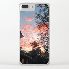 The Sun Also Rises Clear iPhone Case